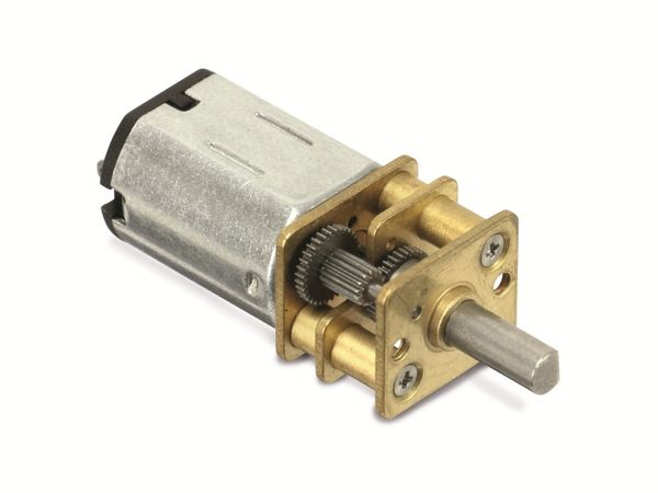 DC-Getriebemotor ZHAOWEI ZWMC012010-100, 12 V-, 185 U/min