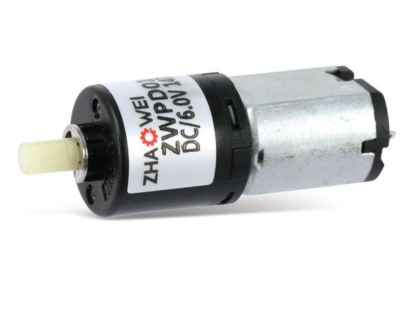 DC-Getriebemotor ZHAOWEI ZWPD016016-96-P, 6 V-, 88 U/min - Produktbild 2