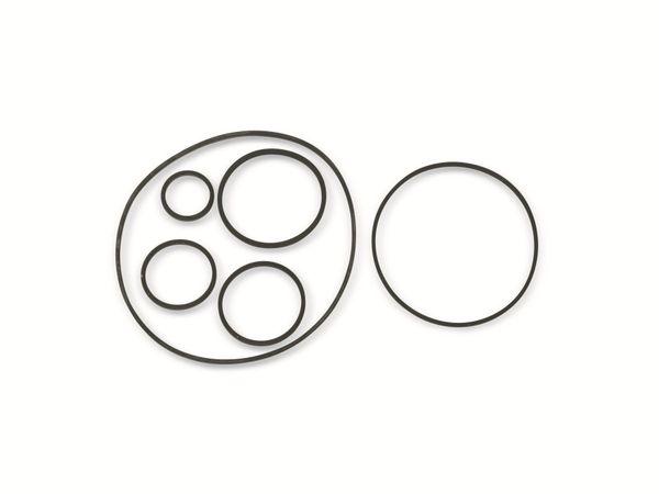 Vierkant-Antriebsriemen, 1,2 mm, Ø 18 mm, 30 mm