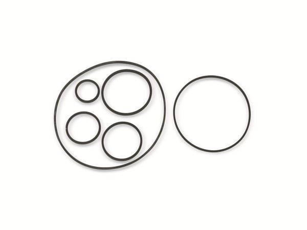 Vierkant-Antriebsriemen, 1,2 mm, Ø 18 mm
