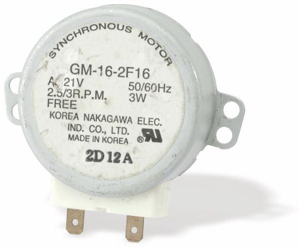 Synchron-Getriebemotor GM-16-2F16, 2,5 U/min - Produktbild 1
