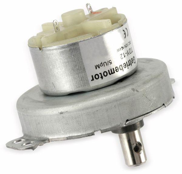 Gleichstrom-Getriebemotor TDY-12, 12 V-, 0,18 A, 5 U/min - Produktbild 3