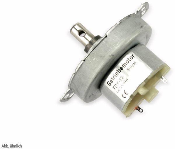 Gleichstrom-Getriebemotor TDY-12, 12 V-, 0,18 A, 8 U/min