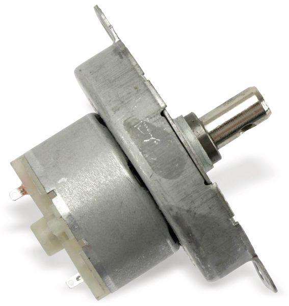Getriebemotor TDY-12, 12V-, 2,5U/min, Ø 50mm, Welle 7x12mm - Produktbild 3