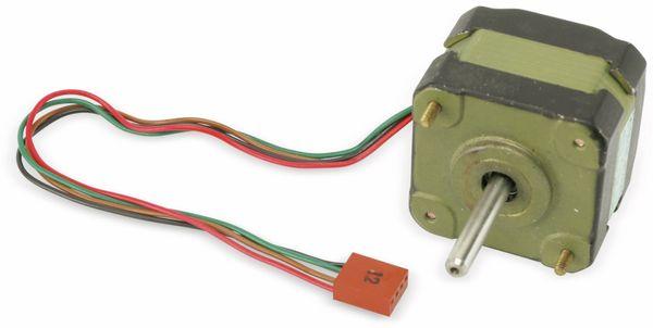 Schrittmotor, TANDON, KP4M2-203, 12 V-, 0,15 A, 1,8 ° - Produktbild 1