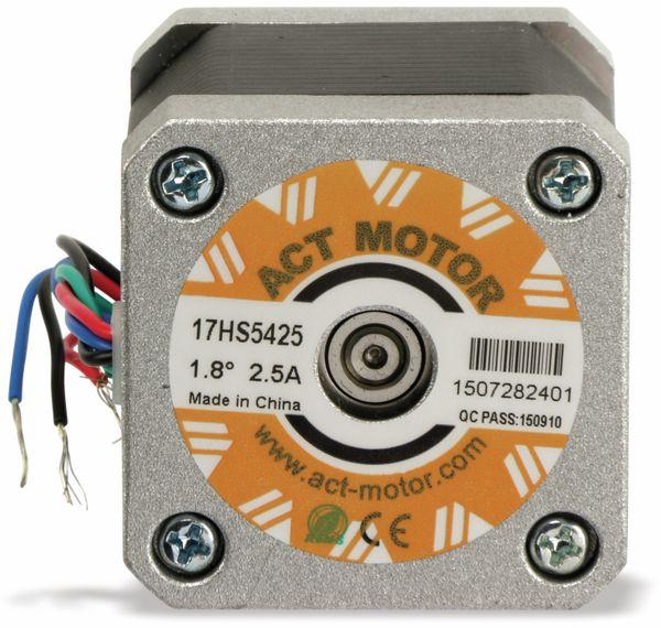 Schrittmotor ACT 17HS5425 1,8°, 2 Phasen, 3,1 V - Produktbild 4
