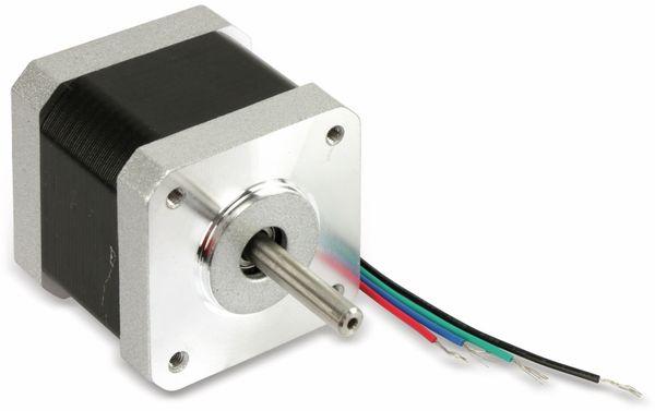 Schrittmotor ACT 17HS4417 1,8°, 2 Phasen, 2,55 V