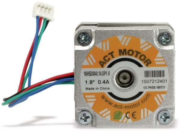 Schrittmotor ACT 16HS2404L14.5P1-X 1,8°, 2 Phasen, 8,4 V - Produktbild 3