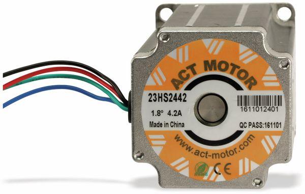 Schrittmotor ACT 23HS2442 1,8°, 2 Phasen, 3,78 V - Produktbild 3
