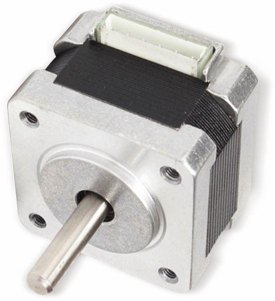 JOY-IT Schrittmotor NEMA14-01, 1,8°, 2 Phasen, 12 V, 0,1 Nm - Produktbild 2
