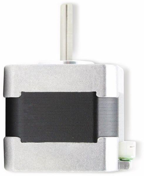 JOY-IT Schrittmotor NEMA14-01, 1,8°, 2 Phasen, 12 V, 0,1 Nm - Produktbild 3