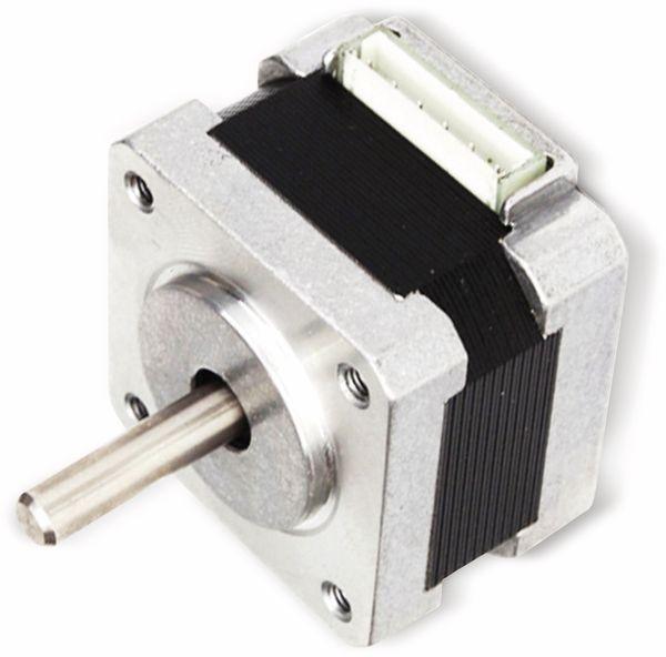 JOY-IT Schrittmotor NEMA14-01, 1,8°, 2 Phasen, 12 V, 0,1 Nm - Produktbild 4