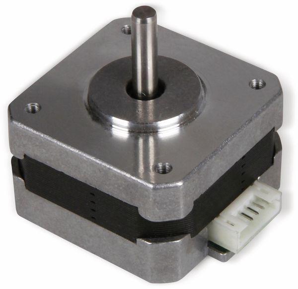 JOY-IT Schrittmotor NEMA17-03, 1,8°, 2 Phasen, 4,8 V, 0,2 Nm - Produktbild 2