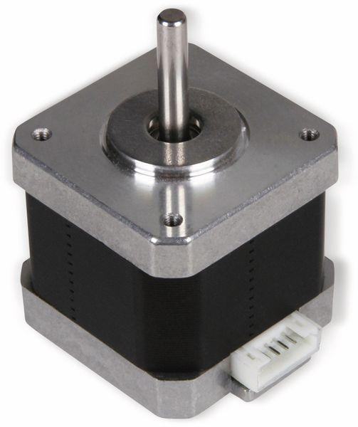 JOY-IT Schrittmotor NEMA17-04, 1,8°, 2 Phasen, 3,3 V, 0,45 Nm - Produktbild 2