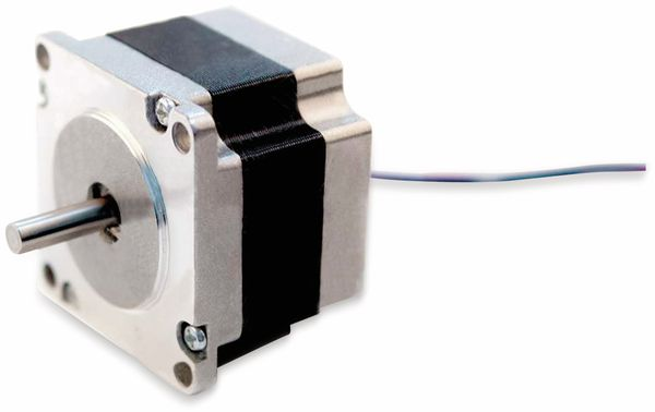 Nema23 Schrittmotor Bipolar 41mm 85oz-in D-Welle 3A 1.8°