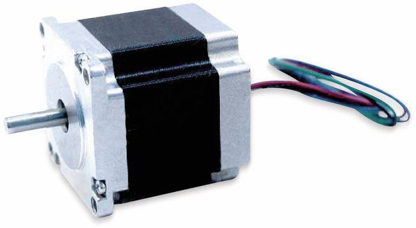 Nema23 Schrittmotor Bipolar 56mm 180oz-in D-Welle 4A 1.8°
