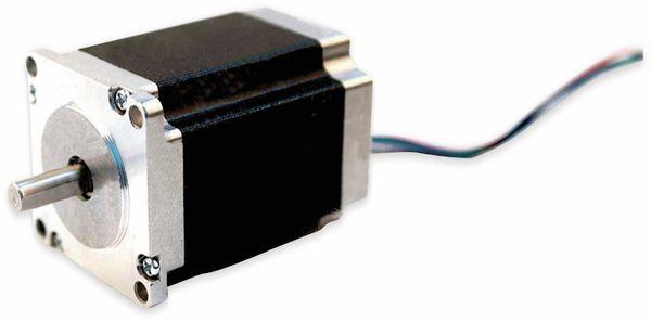 Nema23 Schrittmotor Bipolar 76mm 269oz-in D-Welle 5A 1.8°