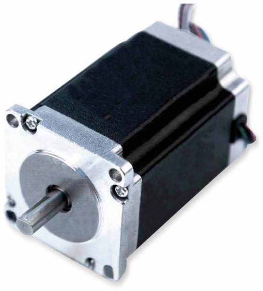 Nema23 Schrittmotor Bipolar 84mm 340oz-in D-Welle 4A 1.8°