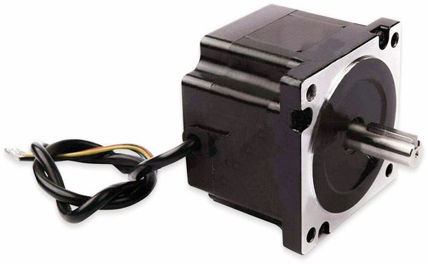 Nema34 Schrittmotor Bipolar 66mm 453oz-in (3.2Nm) Passfederwelle 4A 1.8°