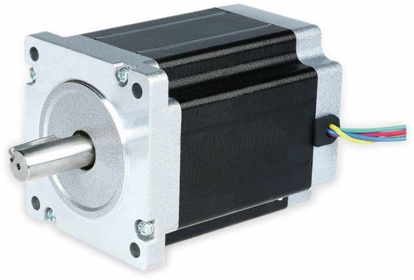 Nema34 Schrittmotor Bipolar 126mm 1700oz-in Passfederwelle 6A 1.8°
