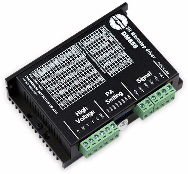 Schrittmotortreiber DM856 für Nema 34 &42 24-80VDC 5.6A 256 Mikroschritte