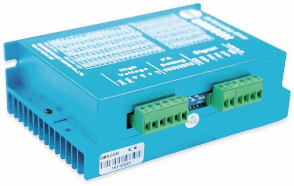 Schrittmotortreiber DM860H Blau 7.2A 24-80VAC 24-110VDC für Nema34