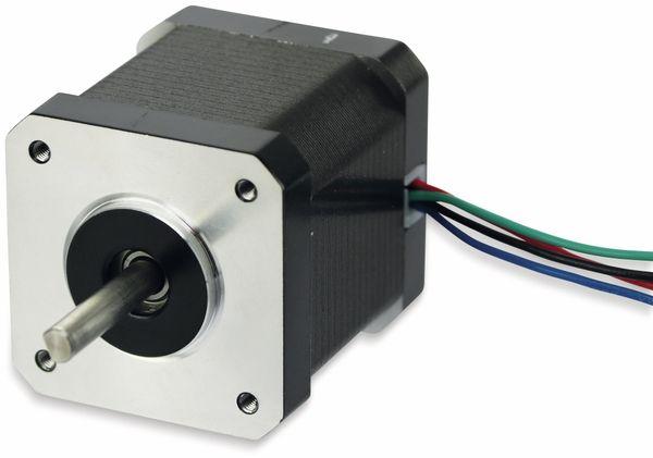 Nema17 Schrittmotor 1,8°, ACT Motor GmbH, 17HS5415P1-X6, 1,5A/Phase, 0,55Nm