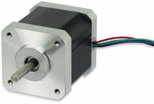 Nema17 Schrittmotor 0,9°, ACT Motor GmbH, 17HM5417, 1,7A/Phase, 0,4Nm
