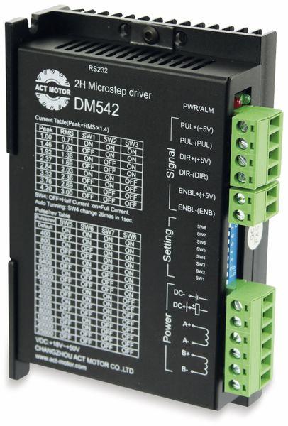 Nema23 Schrittmotortreiber, ACT Motor GmbH, DM542, 18 - 50 VDC, < 4.0 A