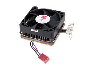 CPU-Kühler HANANO, Sockel 7, Kupfer