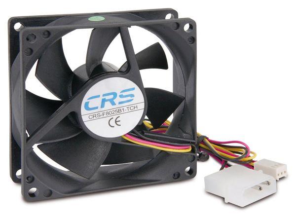 PC-Gehäuselüfter CRS-F8025B1-TCH