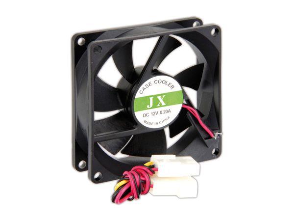 PC-Lüfter JX, schwarz