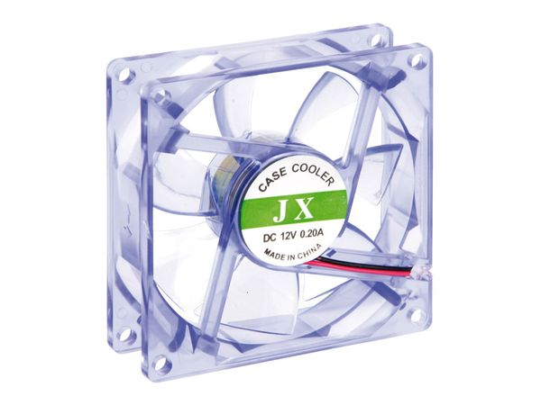 PC-Lüfter JX, blau/transparent