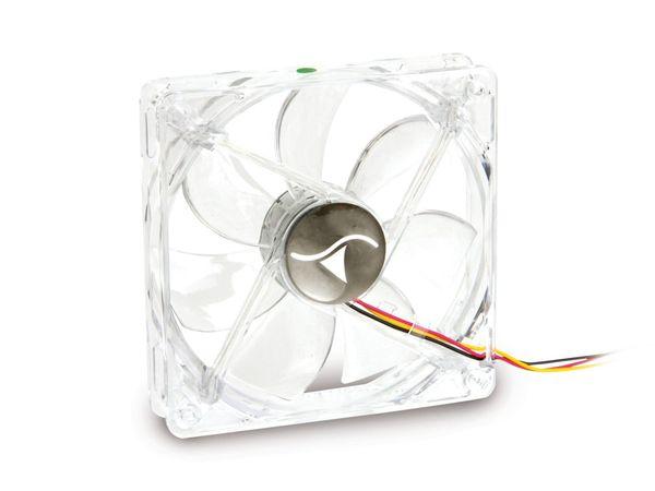PC-Gehäuselüfter mit grünen LEDs, 120 mm