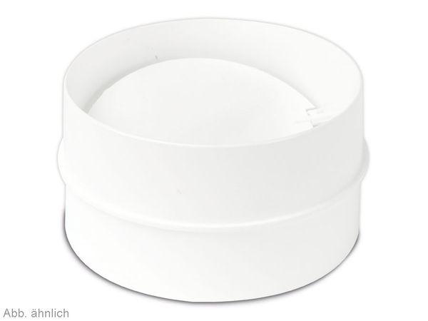 Einschub Rückstauklappe, weiß - Produktbild 1