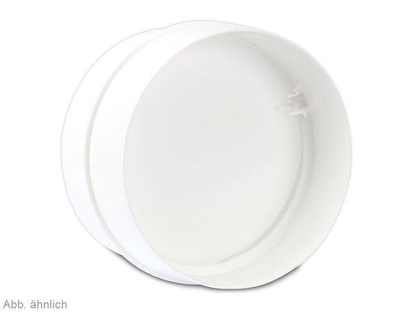 Einschub Rückstauklappe, weiß - Produktbild 2