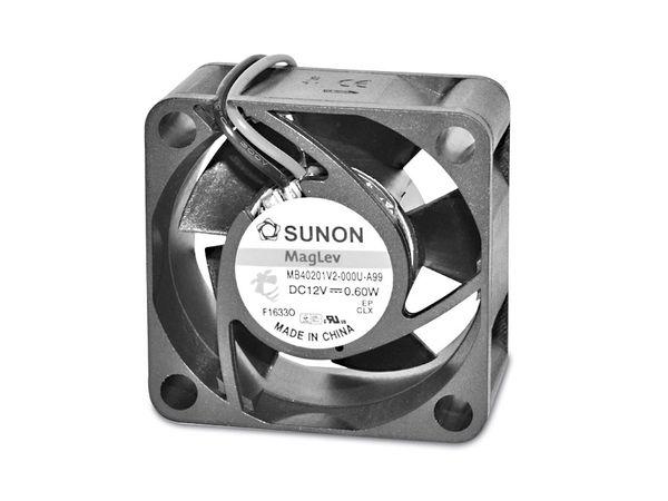 Axiallüfter SUNON EB40201S21000U999, 40x40x20 mm, 12 V-