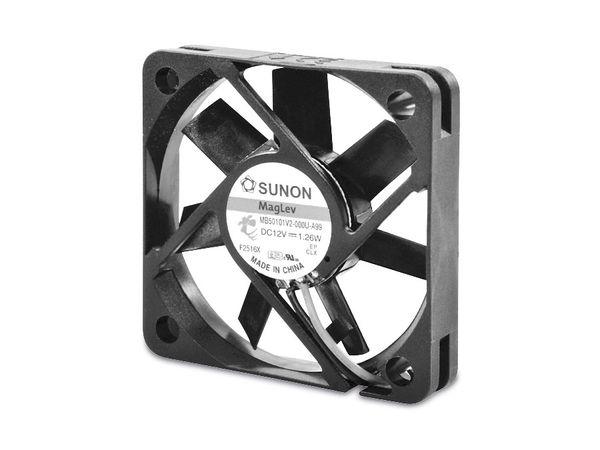 Axiallüfter SUNON MB50101V2-A99, 50x50x10 mm, 12 V-