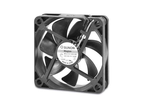 Axiallüfter SUNON ME60151V2-A99, 60x60x15 mm, 12 V-