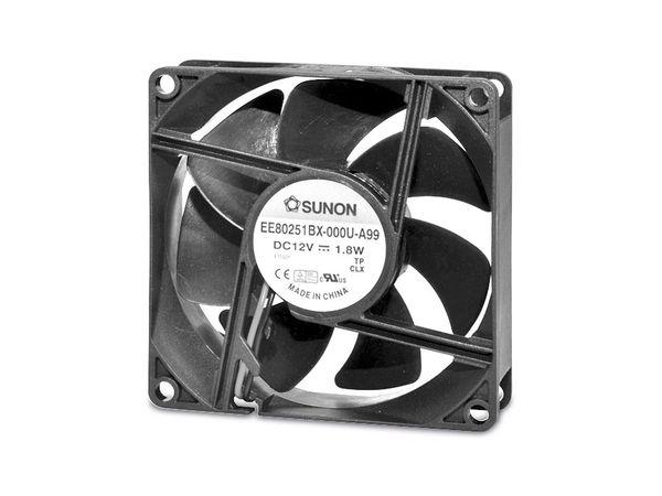 Axiallüfter SUNON EF80252S11000UA99, 80x80x25 mm, 24 V-
