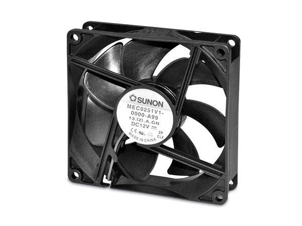 Axiallüfter SUNON MEC0251V2-A99, 120x120x25 mm, 12 V-