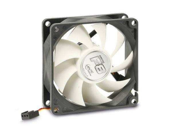 PC-Lüfter ARCTIC COOLING F8, 80x80x25 mm, 12 V-