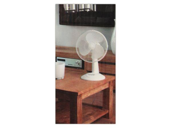 Tisch-Ventilator, Ø 30 cm, 38 W, weiß - Produktbild 3