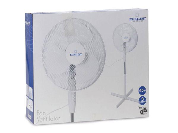Stand-Ventilator, Ø 40 cm, 45 W, weiß - Produktbild 4
