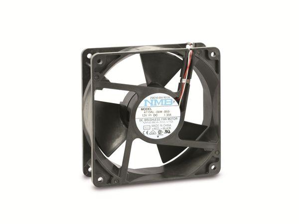 Axiallüfter NMB 4715KL-04W-B59, 120x120x38 mm, 12 V- - Produktbild 1