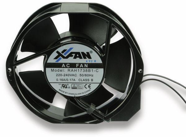 Axiallüfter XINRUILIAN RAH1738B1-C, 230 V~, 172 mm - Produktbild 1