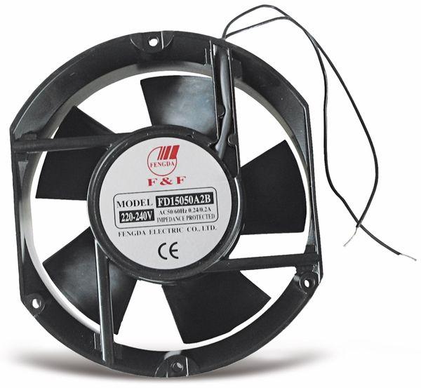 Axiallüfter, 172x150x50 mm, 230 V~