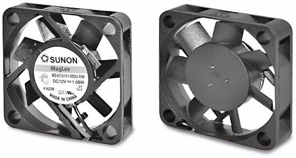 Axiallüfter SUNON MF40100V21000UA99, 40x40x10 mm, 5 V-