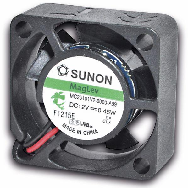 Axiallüfter SUNON MF25100V21000UA99, 25x25x10 mm, 5 V-