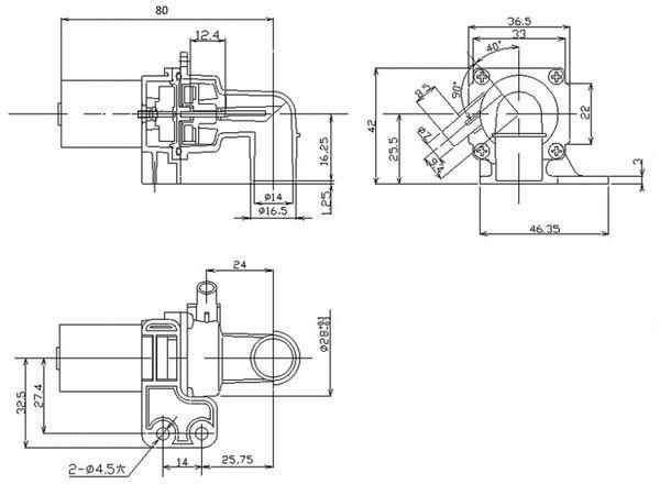 Wasserpumpe J-5000, 6...13,8 V-, 5 l/min - Produktbild 2